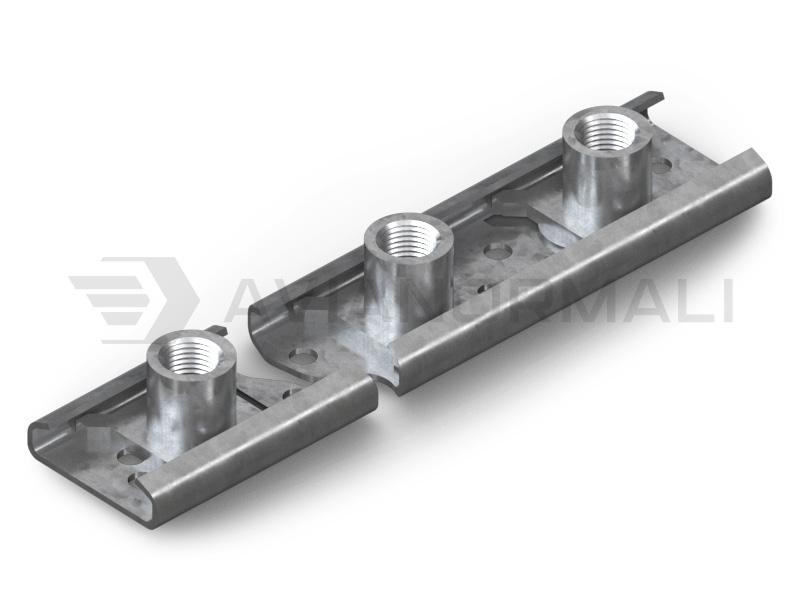 Профиль с плавающими гайками ОСТ 1 37011-80